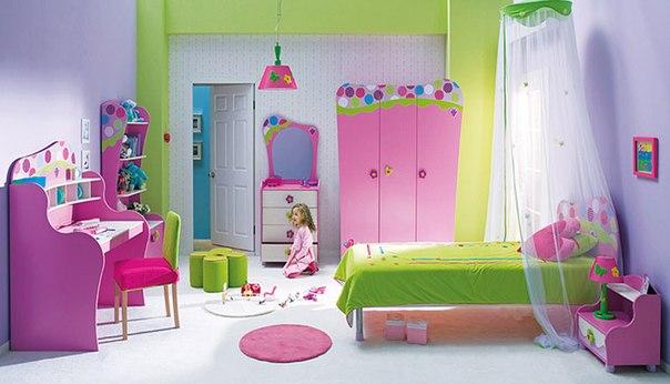 صور ديكورات غرف نوم اطفال 2016 بدهانات والوان مودرن (17)