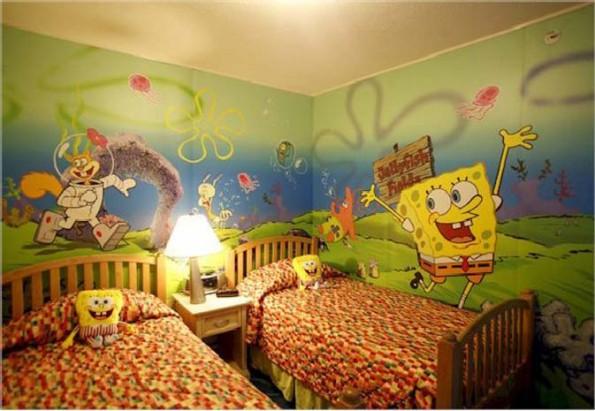 صور ديكورات غرف نوم اطفال 2016 بدهانات والوان مودرن (18)