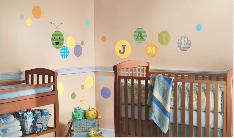 صور ديكورات غرف نوم اطفال 2016 بدهانات والوان مودرن (2)