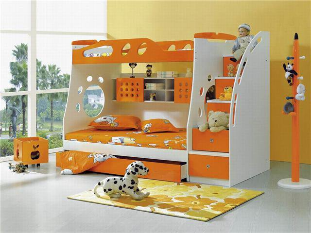 صور ديكورات غرف نوم اطفال 2016 بدهانات والوان مودرن (26)