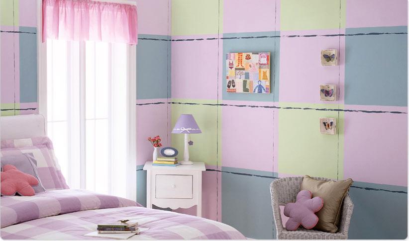 صور ديكورات غرف نوم اطفال 2016 بدهانات والوان مودرن (4)