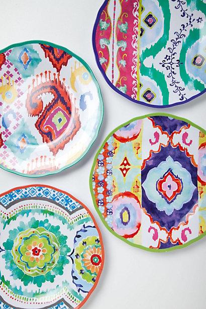 صور اطباق وصحون تقديم ملونة وسادة مودرن شيك (1)