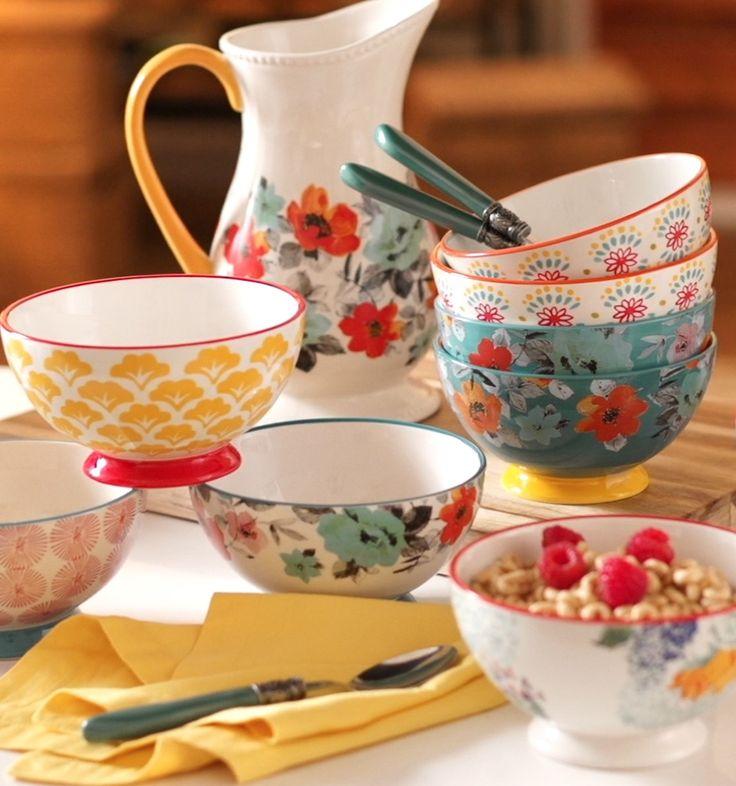 صور اطباق وصحون تقديم ملونة وسادة مودرن شيك (10)