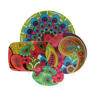 صور اطباق وصحون تقديم ملونة وسادة مودرن شيك (13)
