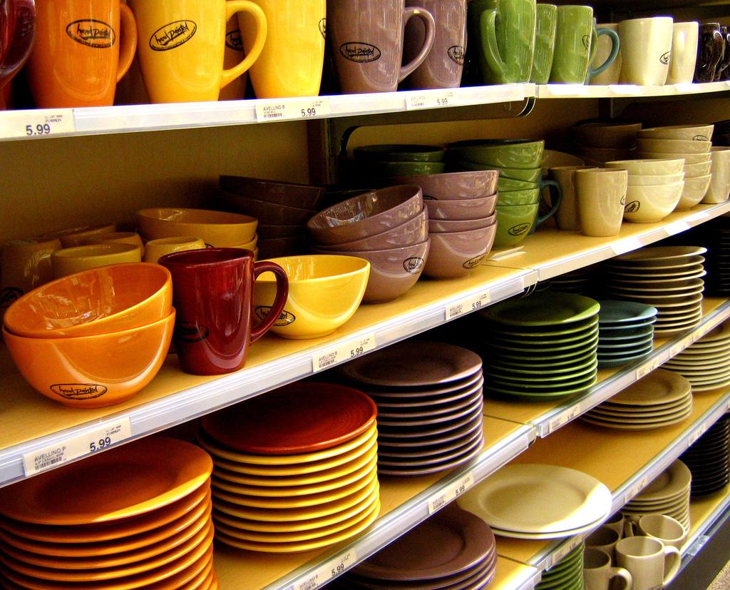 صور اطباق وصحون تقديم ملونة وسادة مودرن شيك (17)