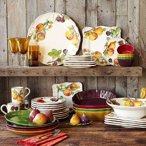 صور اطباق وصحون تقديم ملونة وسادة مودرن شيك (21)