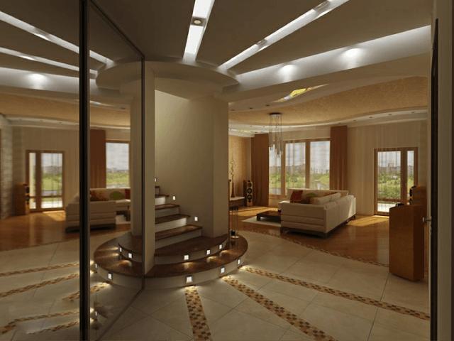 Ceiling Design Living Room Modern False