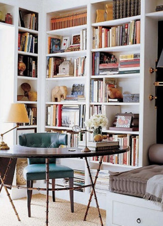 Library Room Home Bookshelves