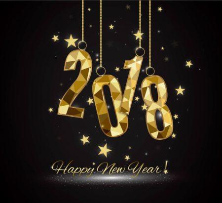 خلفيات ورمزيات العام الجديد2018 (2)