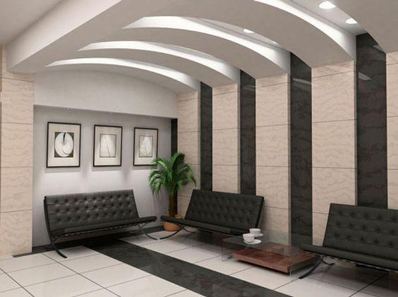 2018 - False wall designs in living room ...
