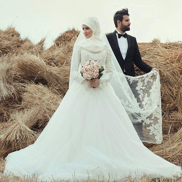 ecd15db68 صور فساتين زفاف احدث فساتين فرح محجبات 2019 | سوبر كايرو