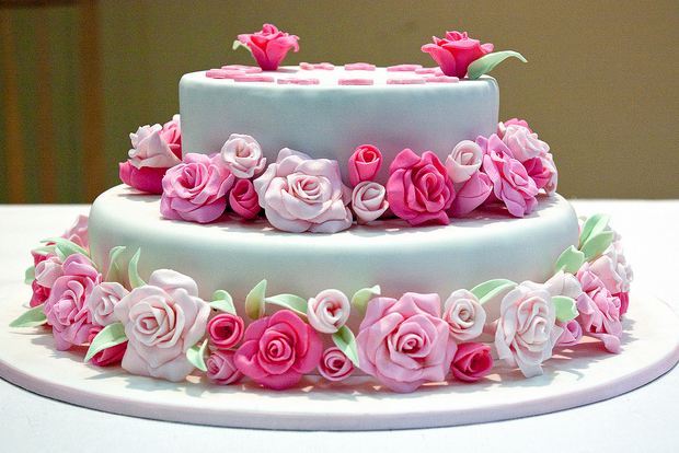 Image Result For Happy Birthday Rose Cake Images