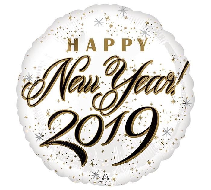 Happy New Year Logo 2019 95