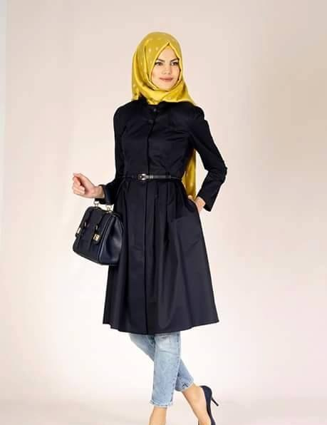 a14ddeac1cd02 ملابس محجبات 2019 احدث تصميمات ملابس بنات محجبات